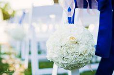 Pomander balls down aisle | Roche Harbor Wedding | Seattle Wedding Planner | New Creations Weddings | Alante Photography