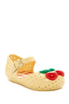 Image of MELISSA FOOTWEAR Mini Furadinha lll Cherry Mary Jane (Toddler)