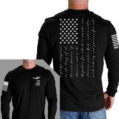 "Men's ""Pledge"" Long Sleeve (Made in the U.S.A.)"