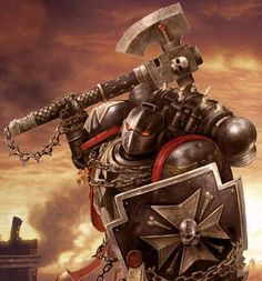 Black Templar Space Marine 40K