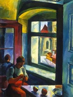 Zsögödi Nagy Imre - At the window, 1928 Window View, Hungary, Windows, Paintings, Artists, Doors, Paint, Painting Art, Artist