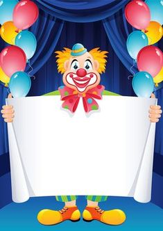 Free Latest Happy Birthday Wishes Cards and Greetings Late Happy Birthday Wishes, Happy Birthday Clown, Art Birthday, Circus Birthday, Circus Theme, Birthday Greetings, Birthday Cards, Clown Crafts, Carnival Crafts