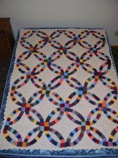 Wedding Rings Blanket by Katherine Eng