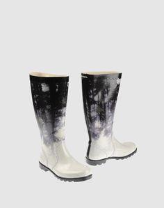DIESEL // rain boots - for my ink dress! Lol