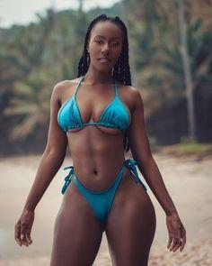 Black Girl Bikini, Sexy Bikini, Bikini Girls, Brown Skin Girls, Pretty Lingerie, Beautiful Black Women, Bikini Models, Bad Gal, Bikini Babes