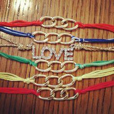 Fashion Gossip: Thursday DIY - friendship bracelets