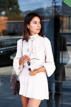 VivaLuxury - Fashion Blog by Annabelle Fleur: PASTEL PLAYSUIT