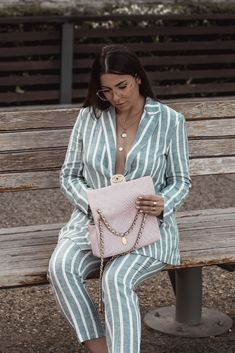 Spring Summer 2018 Trend - Striped Suit by Stella Asteria | Fashion