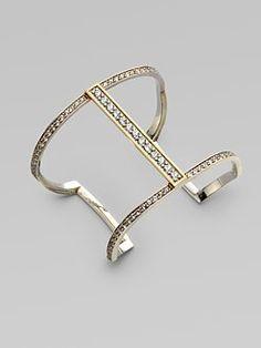 Simple elegant cuff bracelet