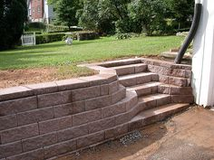 Retaining Wall Steps | Flickr - Photo Sharing!