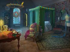 bedroom deviantart fantasy rooms castle anime medieval princess deviant interior scene