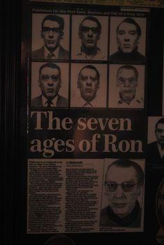 Ron's mugshots from Broadmoor.