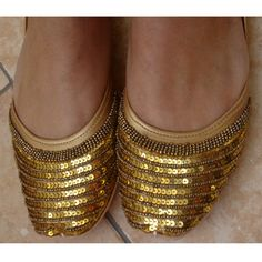 Special 10 Christmas Discount   Handmade Indian Shoes by FootSoles, $25.61