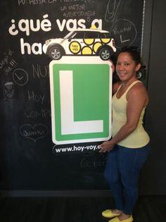 ELIZABETH TEJEDA!!! #hoyvoy #autoescuela #granollers