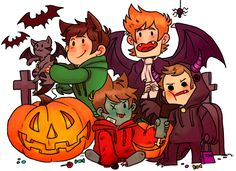 Happy Halloween to everybody~! Art by a Tumblr