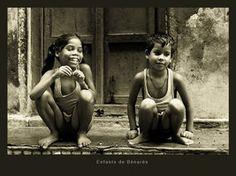 Children of Varanasi - India by krevet