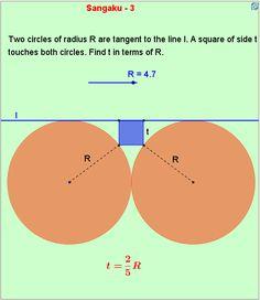 SAngaku-3  http://mathematicsbhilai.blogspot.in/2012/04/sangaku-3.html