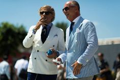 The Men of Pitti on Female Style - Elle