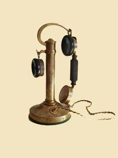 Bob's Old Phones - S.I.T. Candlestick
