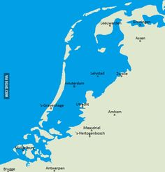 The Netherlands without dams