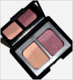 NARS eye shadow duo in Kuala Lumpur - this is another one I actually wear in the daytime. heavier on the purple after work.