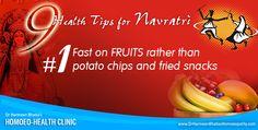 General Health Tips for Navratri