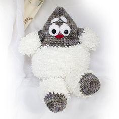 Charles crochet plush toy one-of-a-kind par FermeClairDeLune