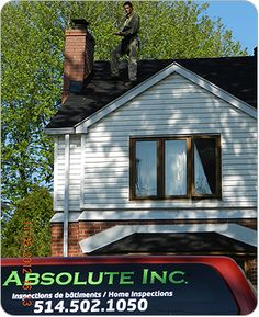 If you are planning to buy a new home in the Montreal area, you should consider hiring a certified home inspector. Absolute Inc. Home Inspections takes great pride in offering you, the client a thorough inspection of your future property. You will get a well explained report of the findings and suggested repairs. Visit => http://www.absoluteinchomeinspections.com/ or call (514) 502-1050 for more details.