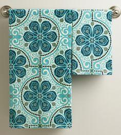 Nomad Tiles Towels