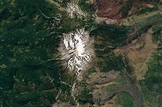 Mount Jefferson : Image of the Day : NASA Earth Observatory