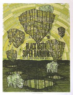 GigPosters.com - Black Moth Super Rainbow - School Of Seven Bells