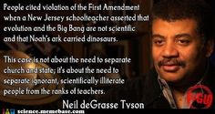 Neil deGrasse Tyson and the separation of church and state...excellent...