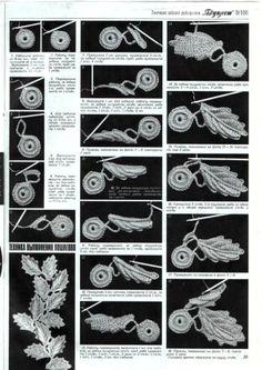 Ирландское кружево / Вязание крючком / Вязание крючком для начинающих