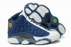 low priced 723bc ada68 Nike Air Jordan 13 Retro University Blue Flint Grey Shoes Retro Jordans For  Sale, Jordan