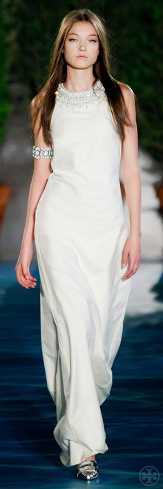 f3c9afd875c Tory Burch Spring 2014  Look 39  toryspring14  nyfw Fashion Week 2015