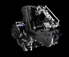 Ducati Diavel engine