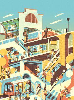 Steve Scott   Illustration   Jelly