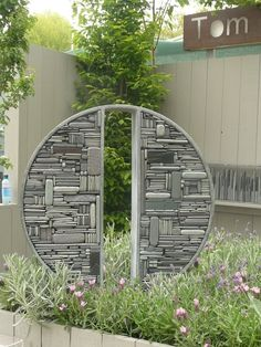 stone mosaic sculpture