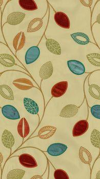 Waverly Print Fabric 54 Leaf Of FaithFlaxseed Flaxseed