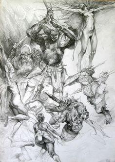Petar Meseldzija Art - Sketch 25