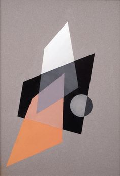 Light Progressions by Charles Green Shaw, 1938, 15 1/4 x 20 1/4 inches, gouache on paper