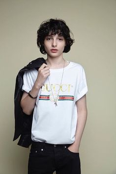 Finn is already modeling Gucci at age 14 https://presentbaby.com