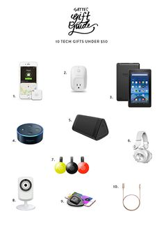 By Assistant Editor Ashley In the world we live in today, tech gifts are great gifts for almost everyone on your list. However, they usually break the budget. Not today! Here are 10 great tech gifts under $50! Click here to see the rest of our gift guides. Tile: a bluetooth tracker used to find … Christmas Gifts 2016, Tech Gifts, Some Fun, Editor, Gift Guide, Bluetooth, Tile, Great Gifts, Rest