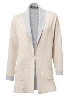Dlouhý úpletový kabátek #avendro #avendrocz #avendro_cz #fashion #business #prace