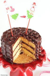 Merceditas Bakery: Tarta de chocolate al Baylis y cena de Nochebuena