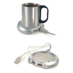 GA Gadget Desktop USB Cup Warmer...Built in 4 Port USB Port for Use with Desktops / Laptops / Notebooks / Netbook / iMac / Macbook: -Keep it Cool for a fiver