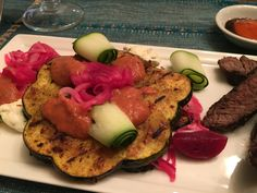 I loved the Squash so much last night that I made it again tonight, but with steak as a side instead of salmon Grilled, then Air Fried Acorn Squash with an Herbed Mascarpone and Tomato Emulsion with Steak seasoned with URBANHERBAL's Coffee Steak Rub and Pickled Onions... it's what for dinner for the Sensual Herbalist tonight! What did you have that you used fresh herbs with? Bless us, O Lord, through these Thy gifts, and supply the wants of others. Amen🙏