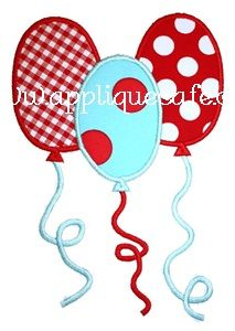Balloons Applique Design-like this too if it can be done in different colors. Applique Templates, Applique Patterns, Applique Quilts, Applique Designs, Embroidery Applique, Machine Embroidery Designs, Quilt Patterns, Owl Templates, Baby Applique