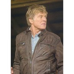 The Company You Keep Robert Redford Brown Leather Jacket
