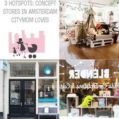 3 Hotspots: concept stores for kids